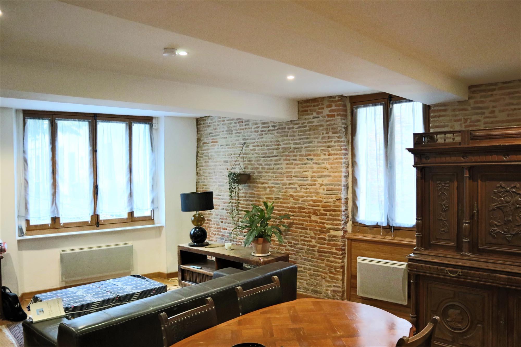 Maison de village rénovée à vendre à Rieux-Volvestre ROSSO IMMOBILIER