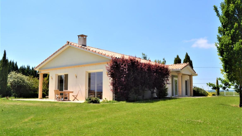 Villa d'architecte avec vue Pyrénées