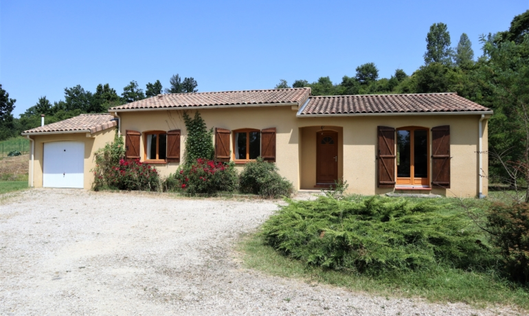 EXCLUSIVITÉ Agréable maison de 102.22 m² de plain pied vue sur les Pyrénées