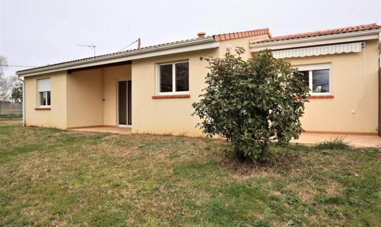 Maison de plain pied 67m² avec garage et jardin