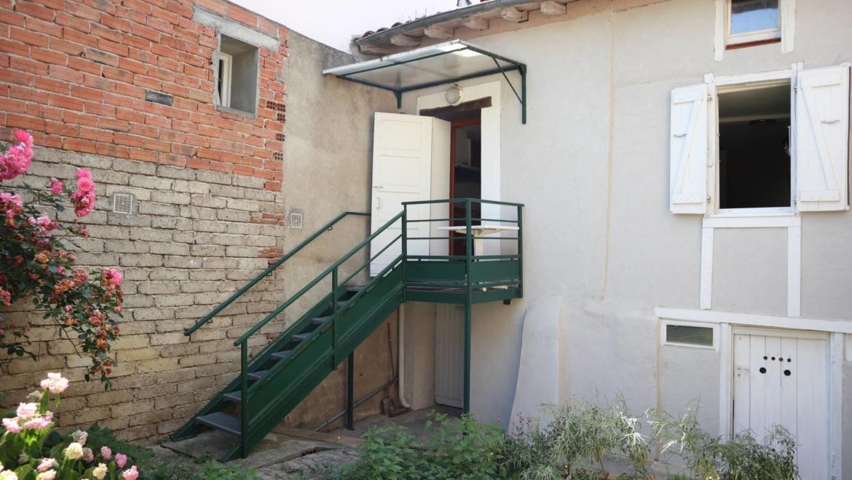 Maison de village 58m² meublée avec jardinet et cave