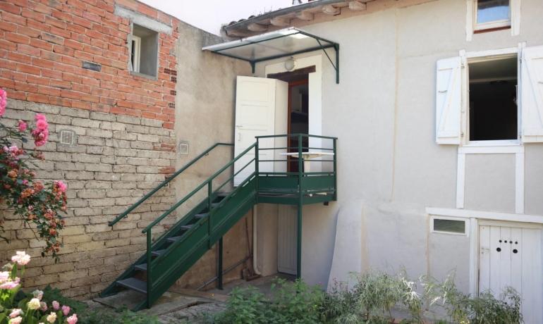 Maison de village 58 m²meublée avec jardinet et cave