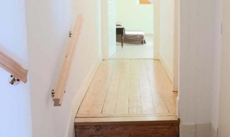 Maison 155m² habitables avec cour – combles aménageables