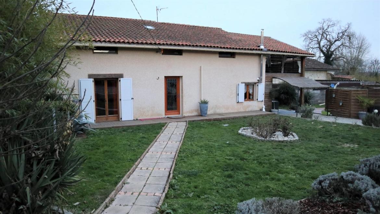 Bâtisse ancienne rénovée 135 m² avec maison indépendante, piscine, SPA, garage